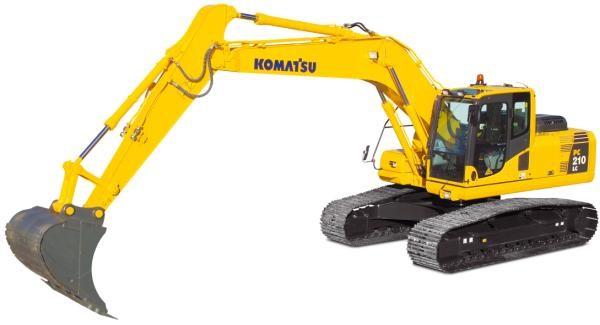 KOMATSU PC 210