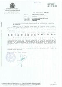 Inscripción Empresa Contratista Obras