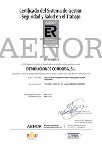 Certificado SST-0112-2016